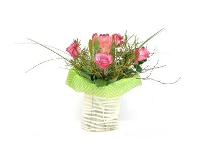 Cos cu flori MA03