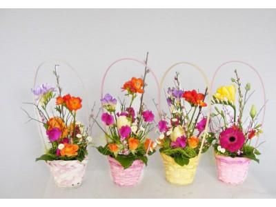 Cos cu flori MA07