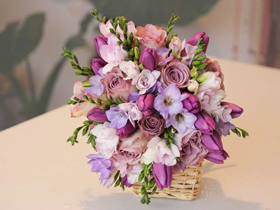 Cos cu flori MA12