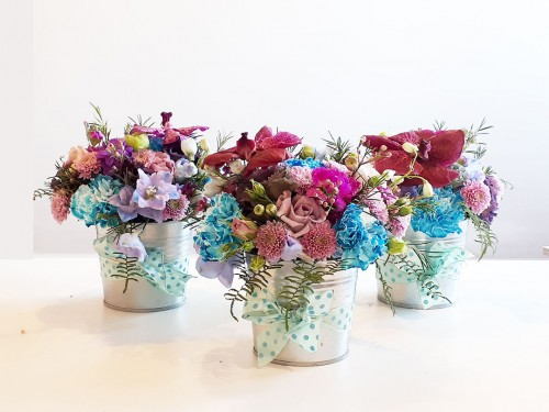 Cos cu flori MA18