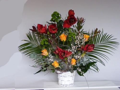 Cos de flori C13