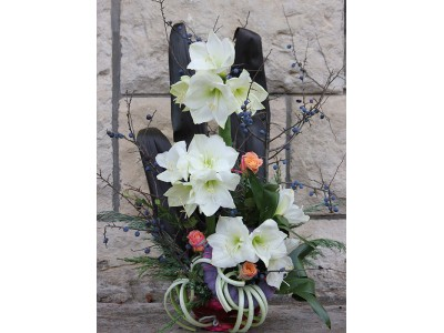 Cos de flori C15