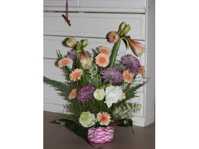Cos de flori C16