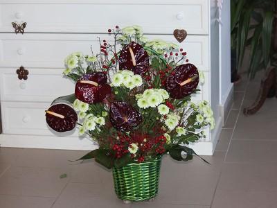 Cos de flori C17