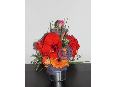 Cos de flori C19
