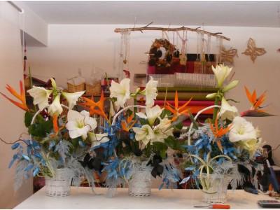 Cos cu flori C20