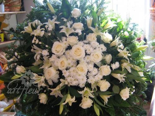 Coroana funerara OM12