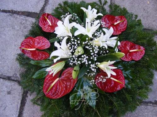 Coroana funerara OM16