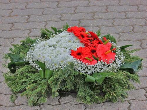 Coroana funerara OM17